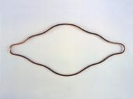 Sinegen , kobber 75 x 150 cm